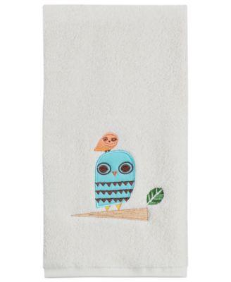 "Towels, Give a Hoot 16"" x 28"" Hand Towel"