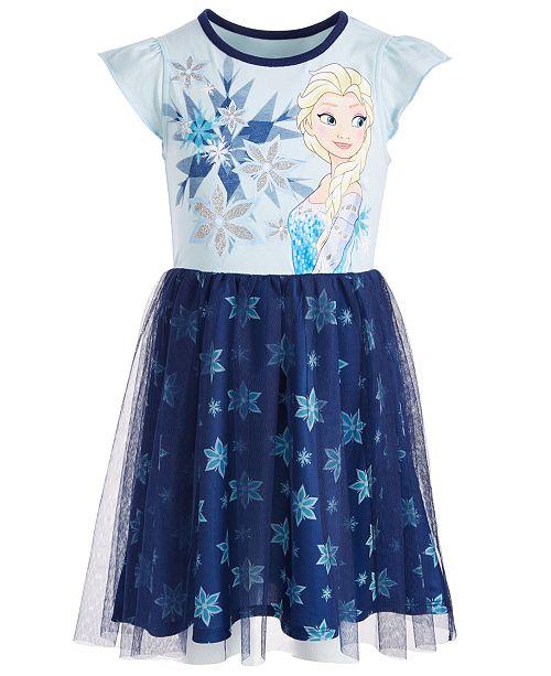 Disney Elsa Snowflake Dress Toddler Girls, Created for Macy's