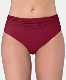 Profile By Gottex Tutti Frutti Ruched Bikini Bottoms