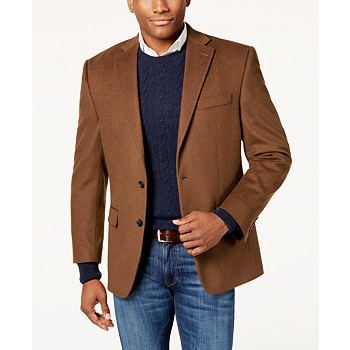 Lauren Ralph Cashmere-Blend Men's Classic Fit Sport Coat