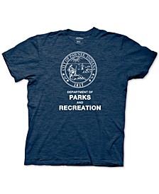 New World Men's Parks & Recreation Graphic T-Shirt