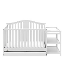 Graco Solano 4 in 1 Convertible Crib and Changer with Drawer