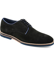 Thomas & Vine Men's Gunner Plain Toe Derby