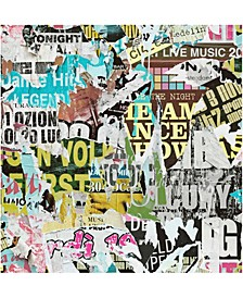 """Barbican Ripped Poster Wallpaper - 396"""" x 20.5"""" x 0.025"""""""