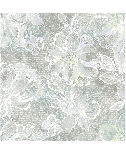 "Brewster Home Fashions Allure Floral Wallpaper - 396"" x 20.5"" x 0.025"""