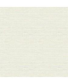 "Lilt Faux Grasscloth Wallpaper - 396"" x 20.5"" x 0.025"""