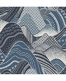 "Meru Mountain Wallpaper - 396"" x 20.5"" x 0.025"""