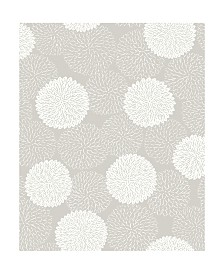 "Brewster Home Fashions Blithe Floral Wallpaper - 396"" x 20.5"" x 0.025"""