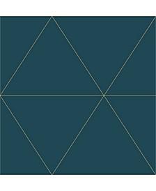 """Twilight Geometric Wallpaper - 396"""" x 20.5"""" x 0.025"""""""