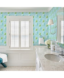 "Copacabana Pineapple Wallpaper - 396"" x 20.5"" x 0.025"""