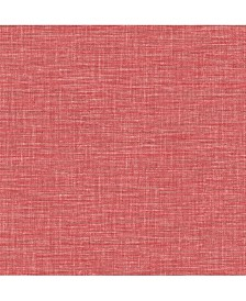 "Exhale Faux Grasscloth Wallpaper - 396"" x 20.5"" x 0.025"""
