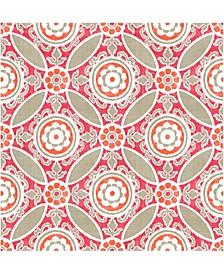 "Maya Medallion Wallpaper - 396"" x 20.5"" x 0.025"""