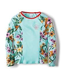 Heritage Floral Long Sleeve Lycra Set