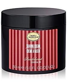 The Men's Sandalwood Shaving Cream, 5 oz.