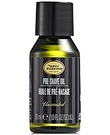 The Pre-Shave Oil - Unscented, 1 oz