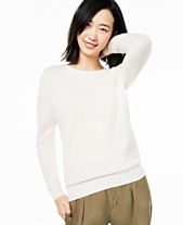 a8eef05840c1a Charter Club Crew-Neck Cashmere Sweater, Created for Macy's