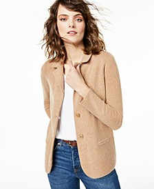 Pure Cashmere Blazer, Regular & Petite Sizes, Created For Macy's