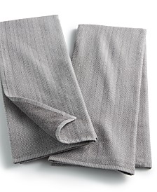 Hotel Collection Countertop Set of 2 Terry Back Towels, Created for Macy's
