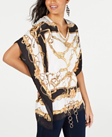 Thalia Sodi Belted Tunic, Created for Macy's