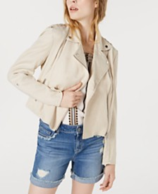 I.N.C. Herringbone Moto Zip Jacket, Created for Macy's