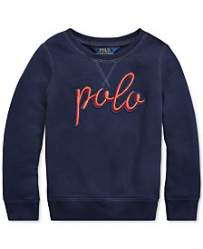 Polo Ralph Lauren Toddler Girls Logo Graphic Pullover