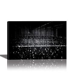 Eurographics Frozen Rain Framed Canvas Wall Art