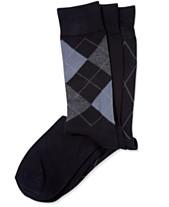 7366deb7c2 Perry Ellis Men s 3-Pk. Patterned Dress Socks