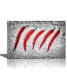 Eurographics Frozen Fire Framed Canvas Wall Art
