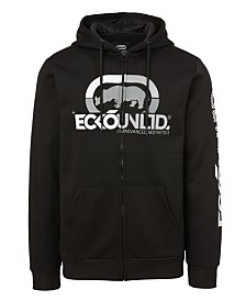 Ecko Unltd Men's Personalized Full Zip Hoodie