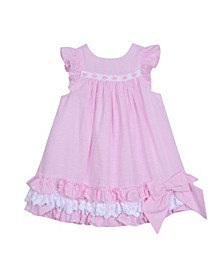 Little Girls Ruffle Hem Dress