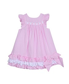 Laura Ashley Toddler and Little Girl's Ruffle Hem Dress
