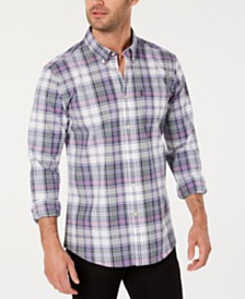 Barbour Men's Plaid Oxford Shirt