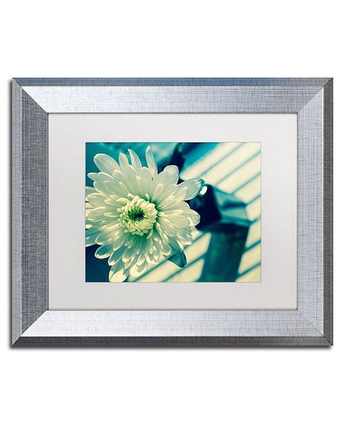 "Trademark Global PIPA Fine Art 'Melancholy Flower' Matted Framed Art - 11"" x 14"""