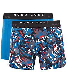 HUGO Men's 2-Pk. Boxer Briefs