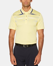 PGA TOUR Men's Big & Tall Printed Golf Polo
