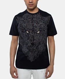 Sean John Men's Wolfman Graphic T-Shirt