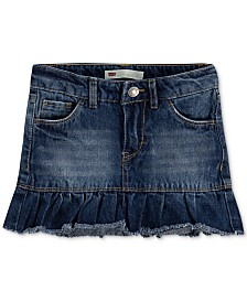 Levi's® Toddler Girls Denim Scooter Skirt