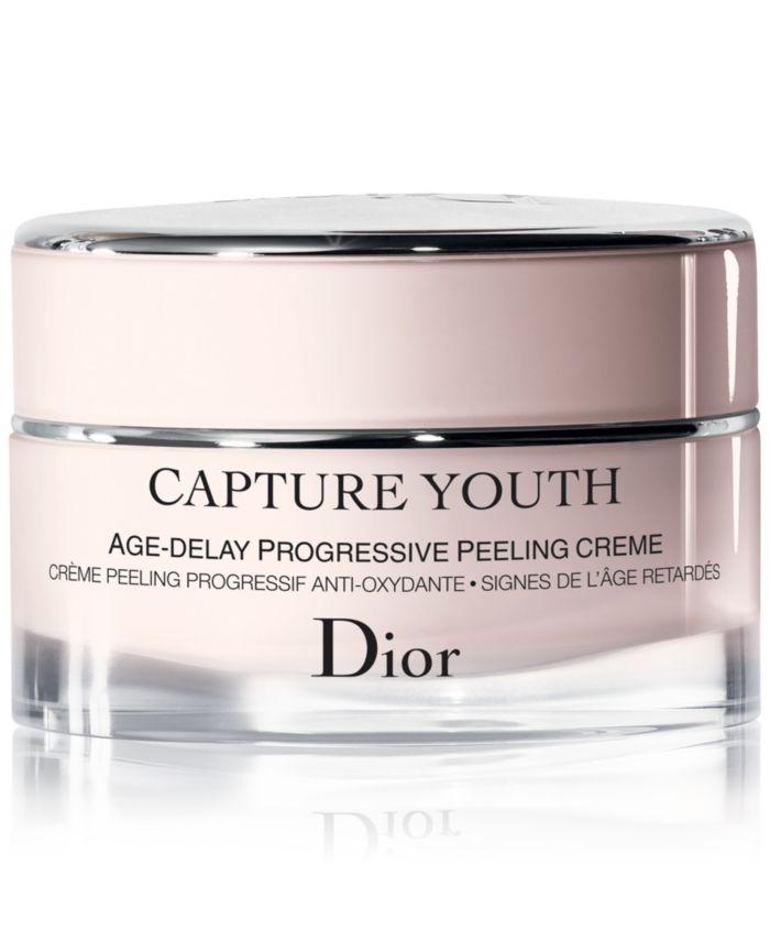 Dior Capture Youth Age-Delay Progressive Peeling Creme & Reviews - Skin Care - Beauty - Macy's
