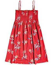 Big Girls Printed Cotton Sundress