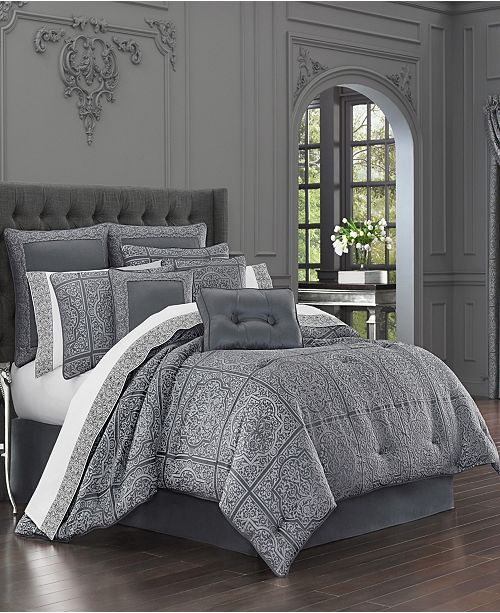 J Queen New York J Queen Rigoletto Queen Comforter Set