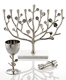 Michael Aram Botanical Leaf Judaica Collection