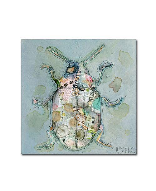 "Trademark Global Wyanne 'Paul' Canvas Art - 14"" x 14"""