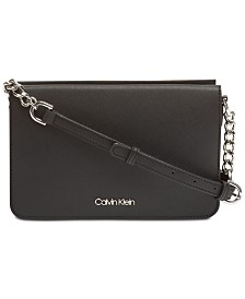 Calvin Klein Hayden Leather Crossbody