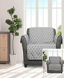 "Coby 92"" x 75"" Reversible Water Resistant Loveseat Cover"