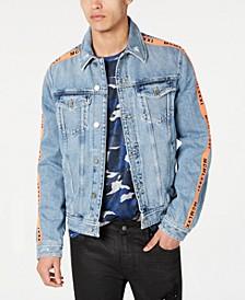 Men's Side Tape Denim Jacket