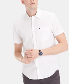 Tommy Hilfiger Men's Bunting Stretch Shirt