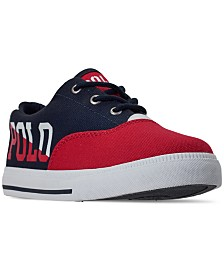 Polo Ralph Lauren Big Boys' Vaughn II Casual Sneakers from Finish Line