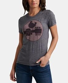 Lucky Brand Songbird Woodstock T-Shirt