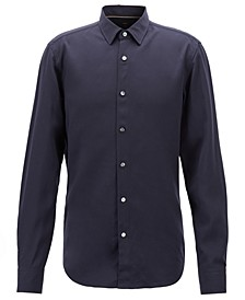 BOSS Men's Slim Fit Twill Shirt
