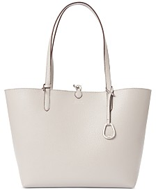 Lauren Ralph Lauren Merrimack Vegan Leather Reversible Tote